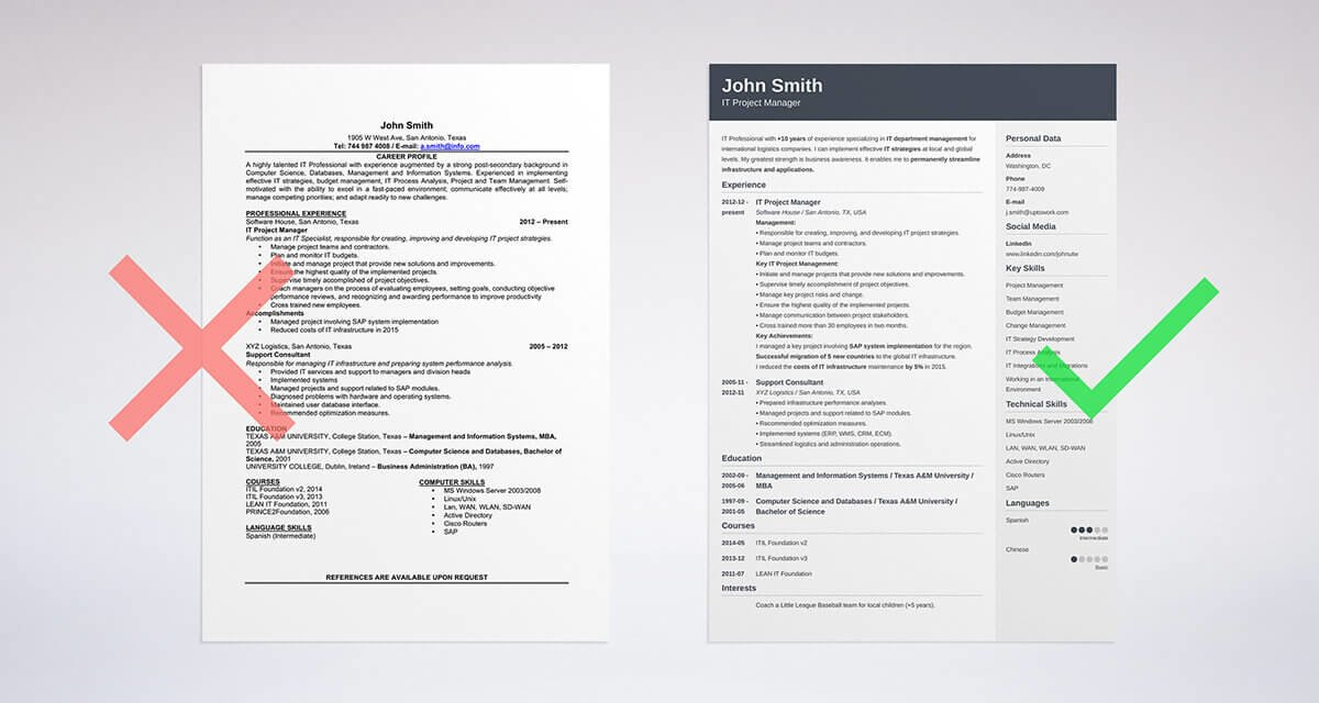 See more templates and use our builder to create your perfect resume!