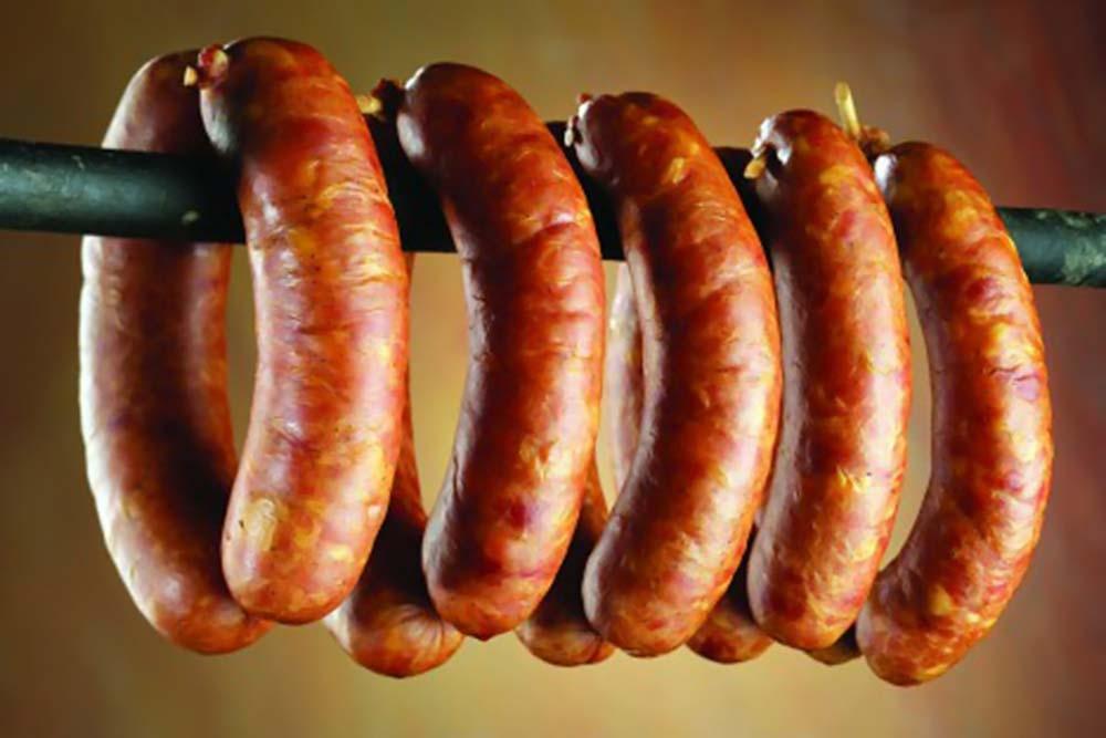 Hanging Smoked Sausage with Adjustable Rig? — Big Green ...