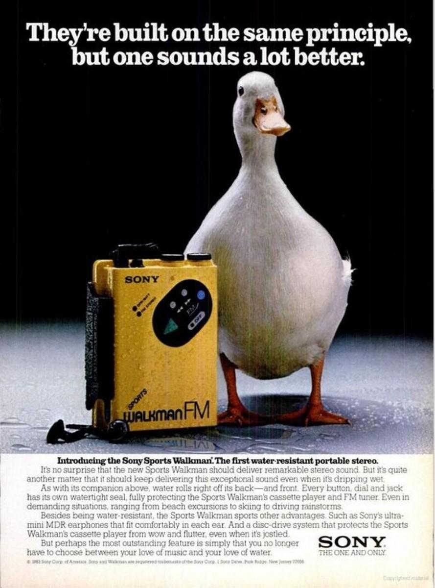 Waterproof Cassette Players: Sony Walkman, Panasonic ...