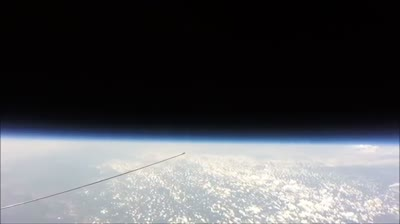 No Curve at 121,000 Feet! High Altitude Balloon Cam Reveals the True Flat Earth | FLAT EARTH ...