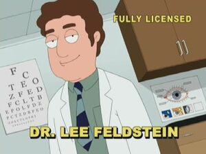 Dr. Lee Feldstein | Family Guy Wiki | FANDOM powered by Wikia