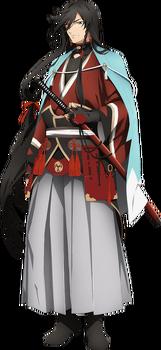 Izuminokami Kanesada/Anime - Touken Ranbu
