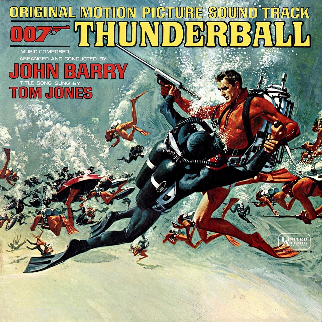 Rocks In The Attic #368: John Barry – 'Thunderball (O.S.T.)' (1965) | Vinyl Stylus
