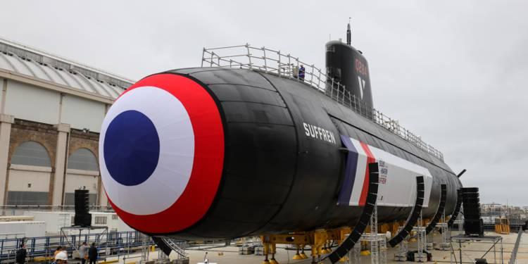 Inauguration du Suffren, nouveau sous-marin nucléaire ...