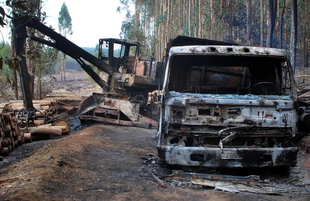 The Mapuche Resistance Destroys Extraction Machinery in ...
