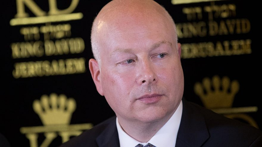 Jason Greenblatt, Trumps Mideast Envoy & Architect Of ...
