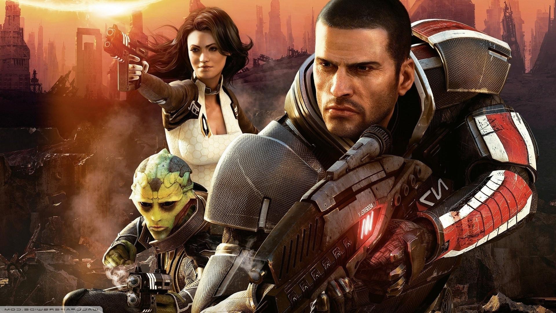 Mass Effect, Video Games, Mass Effect 2 Wallpapers HD ...