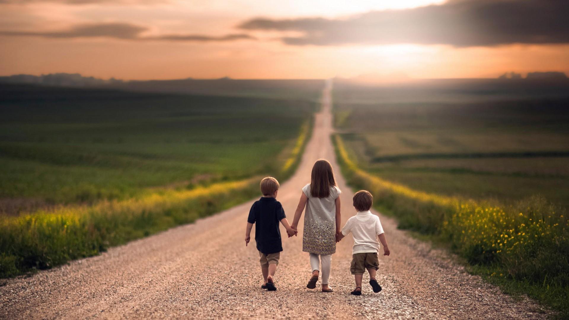 children path nature holding hands road nebraska natural lighting jake olson dirt road ...
