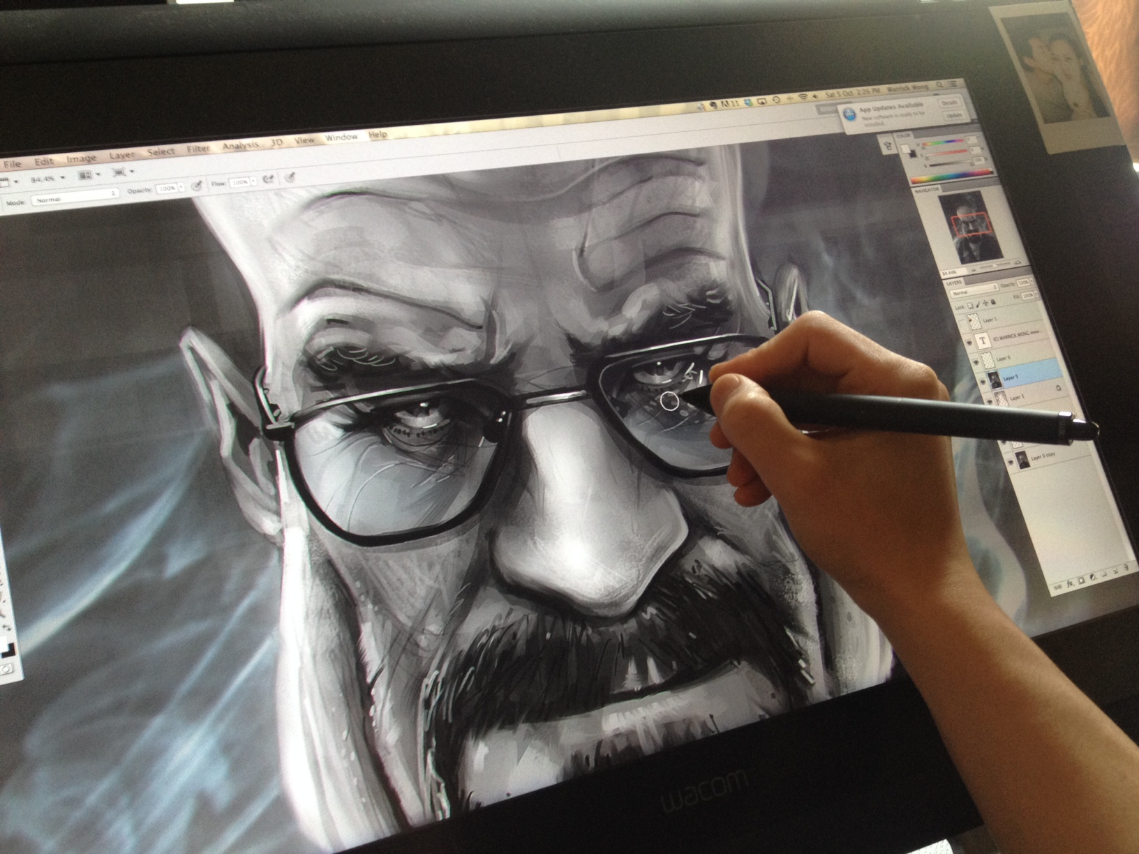 Wacom CINTIQ 22HD Review | Warrick Wong Design
