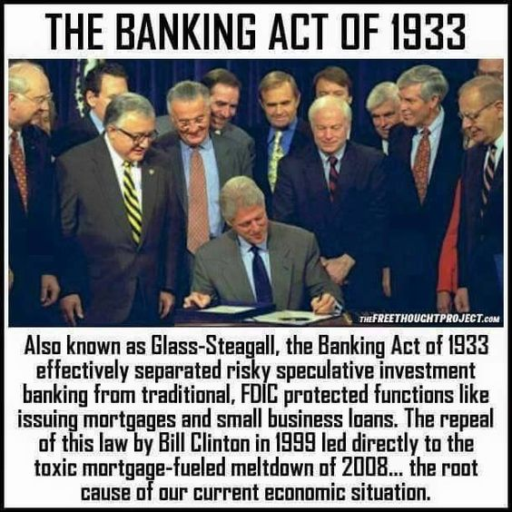 Trump To Revive Glass-Steagall Provisions, Cut Banks Down ...
