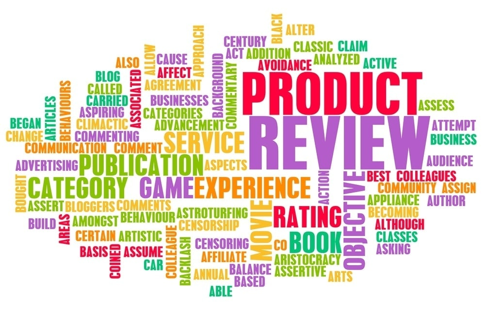 How can you use product reviews update
