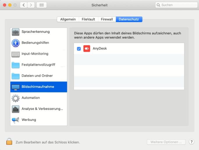 Warum kann ich keine AnyDesk-Verbindung mit dem autoiXpert ...