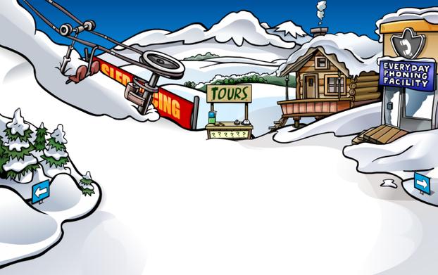 Club Penguin: The Rooms Of Club Penguin