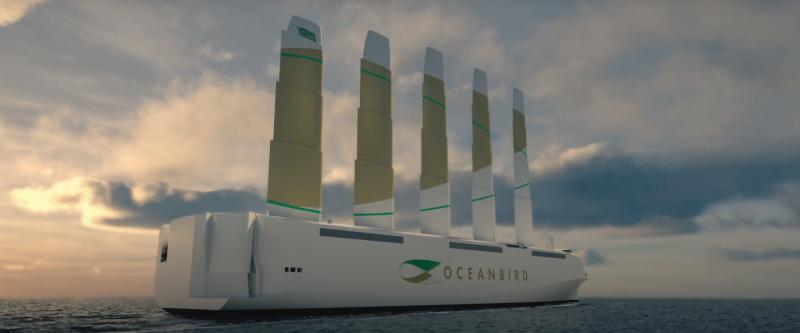 Oceanbird's 80-Meter Sails Promises To Reduce Shipping ...