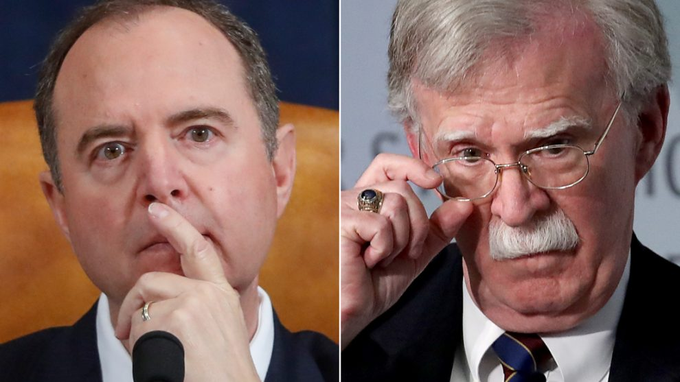 Schiff suggests Bolton may testify – and that more impeachment proceedings may be on the table…