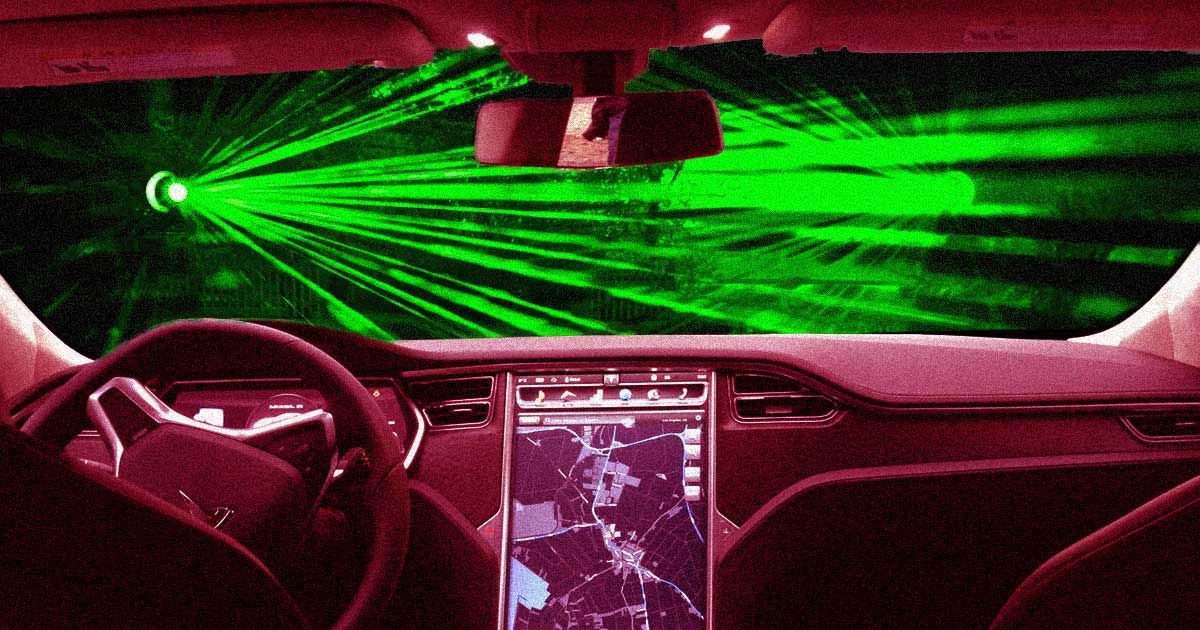 Tesla wants to replace windscreen wipers with lasers…