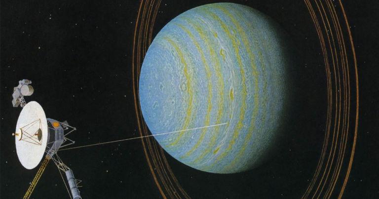 Nasa Data Shows Something Leaking Out Of Uranus' fart-like atmosphere…