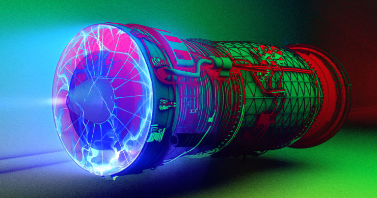 This scientist says he's built a jet engine that turns electricity directly into thrust…