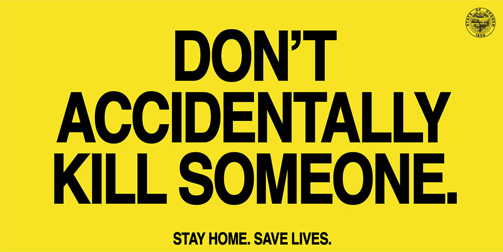 Oregon Gov. launches 'Stay Home, Save Lives' ad campaign ...