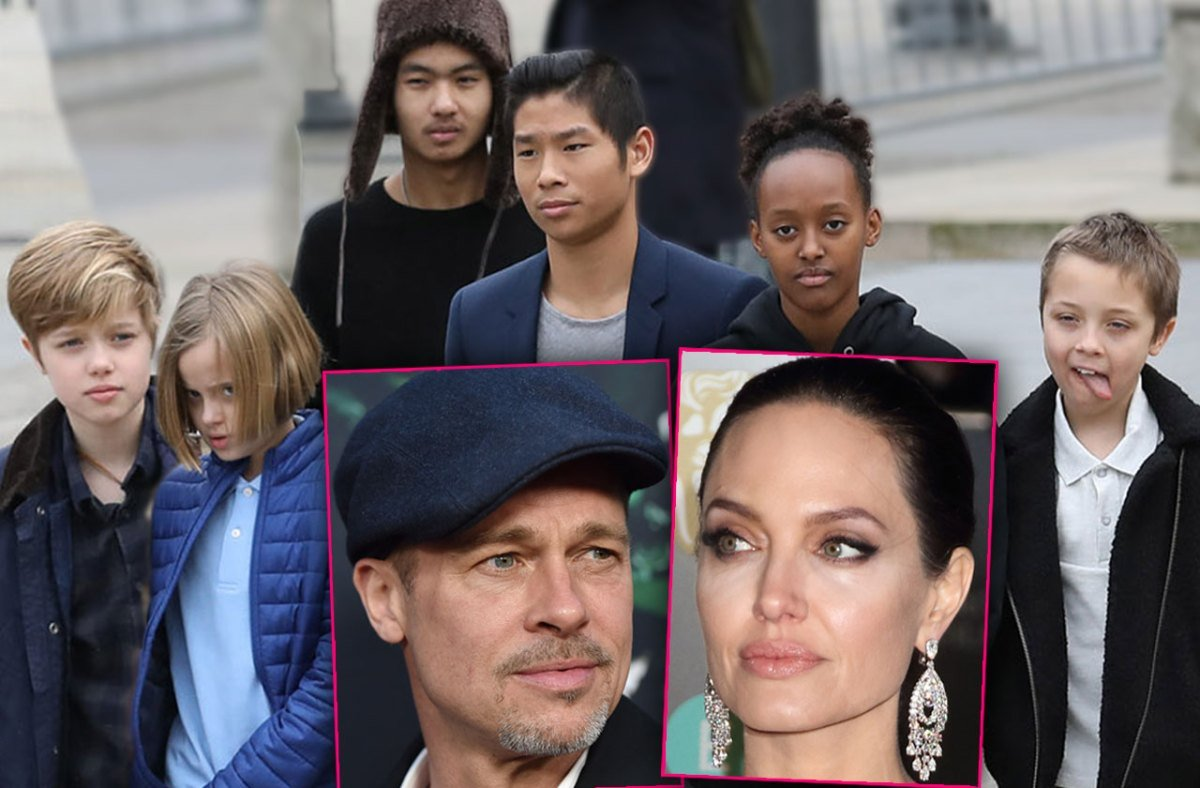 Brad & Angie's Kids Caught In Crossfire Of Ugly Divorce ...