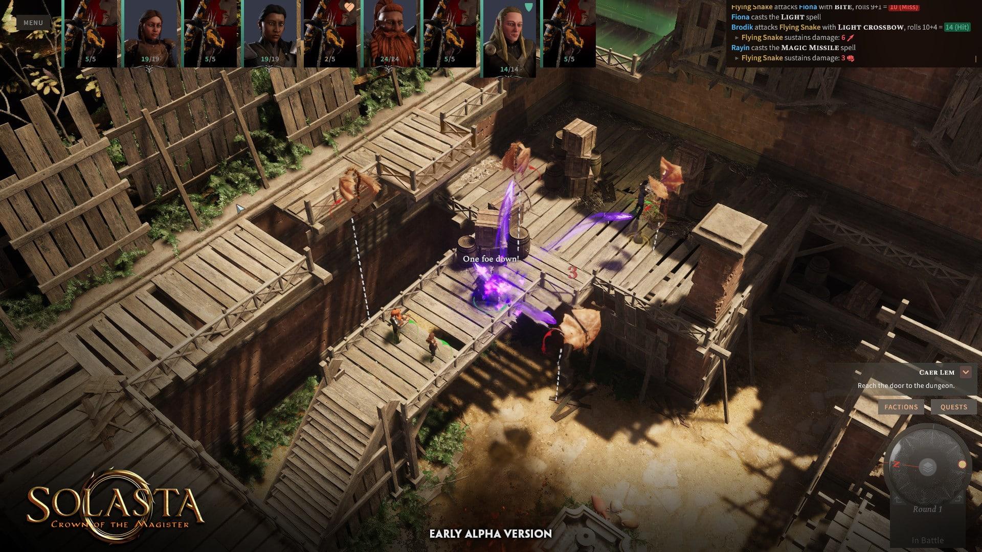 Solasta : Crown of the Magister arrive en accès anticipé sur Steam le 20 octobre
