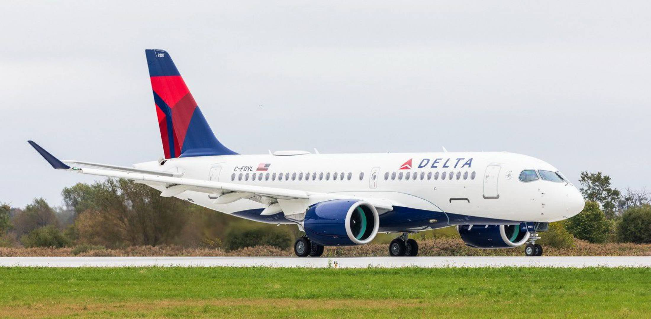 Delta Takes Its First A220 from Airbus | Air Transport ...