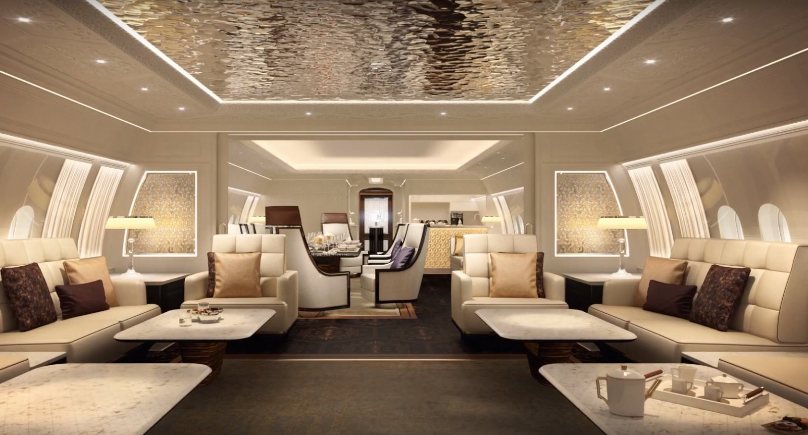 Breathtaking video of Boeing 777X VIP interior - Airline ...