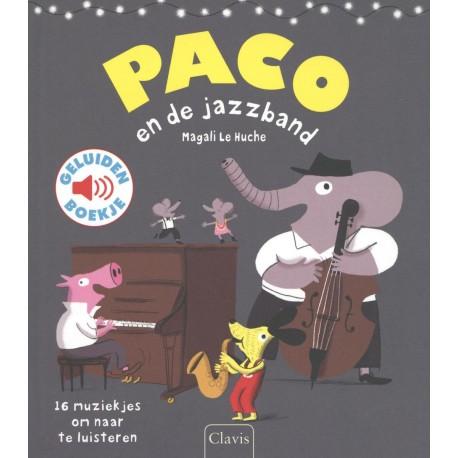 Paco en de jazzband. Geluidenboekje - AllesinWonderland.nl