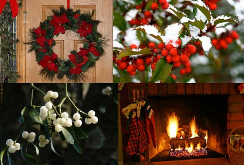 Mistletoe, Holly, and Yuletide Cheer: Weaving Natural ...