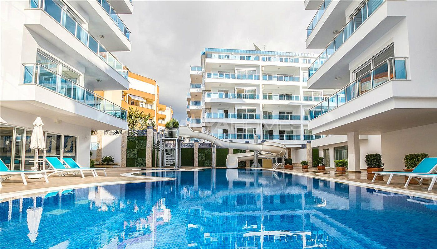 Luxury Alanya Apartments for Sale Close to the Sandy Beach