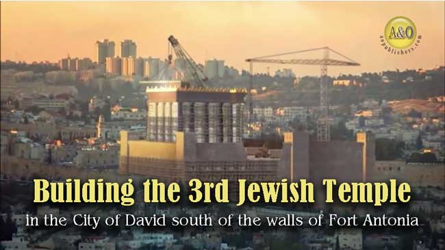 A&O · BUILDING THE THIRD TEMPLE · Amazing Temple Implements