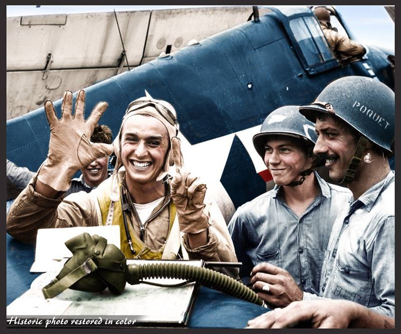 Colorized WWII Photos make Allied Troops come to life