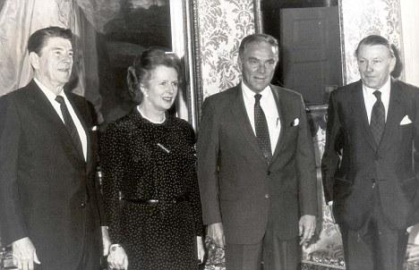 Iron Lady - Thatcher with Al Haig Tragedies and Triumphs Famous ...