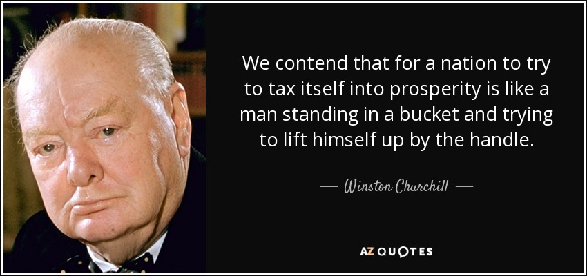 Winston Churchill quote: We contend that for a nation to ...