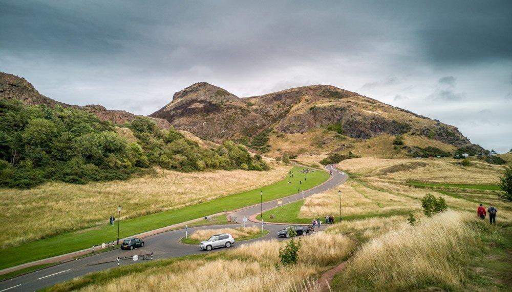 A Team Walk Up Arthur's Seat, Edinburgh