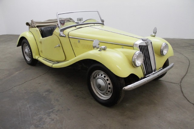 1954 MG TF Right Hand Drive Roadster | Beverly Hills Car Club