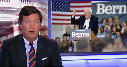 Tucker Carlson warns Bernie Sanders could win over 'thousands' of 2016 Trump voters in general election…