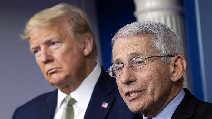 Fauci to Media: Stop Trying to Pit Me Against Trump ...
