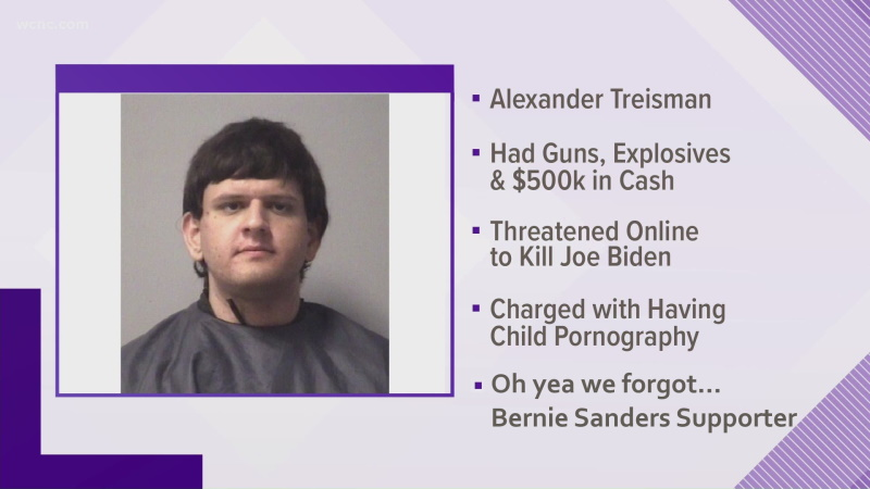 Bernie Bro with Van Full of Guns and Explosives Plotted to Assassinate Biden. Media Buries the ...
