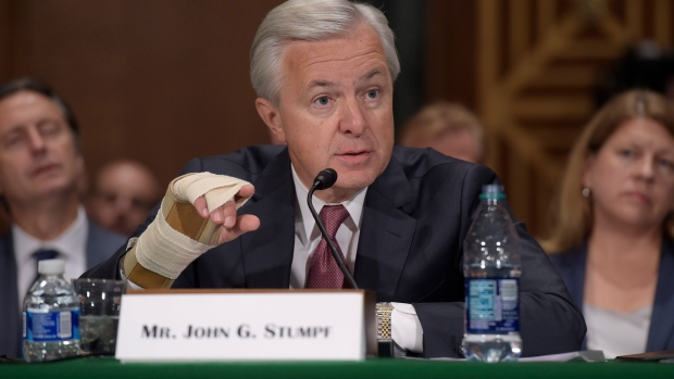 Former Wells Fargo Chief Executive John Stumpf Fined $17.5M for Sales Scandal, Banned From Banking Industry….