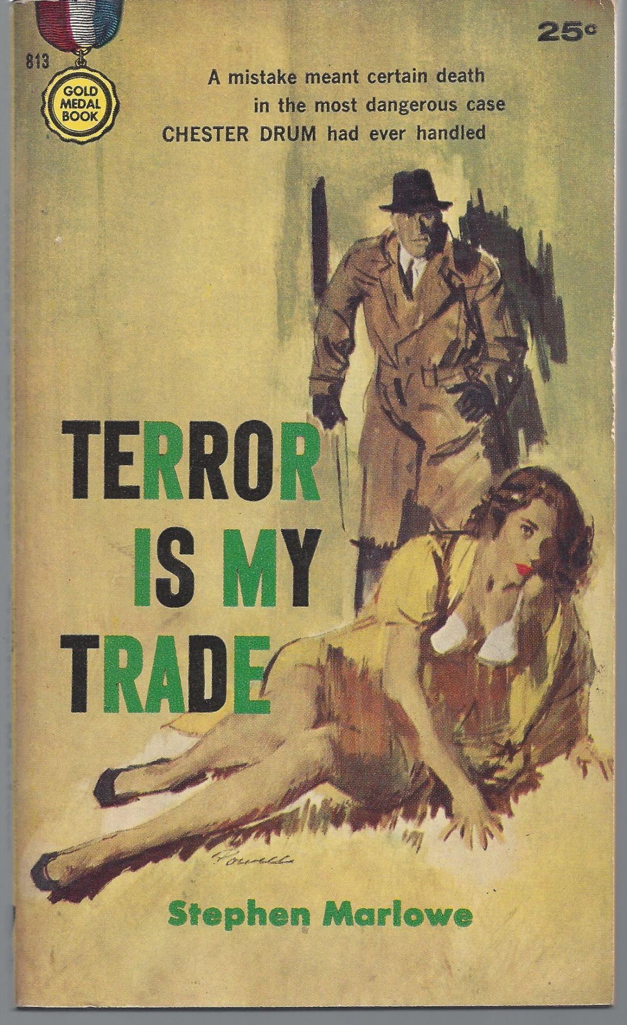 Stephen Marlowe / Terror is My Trade First Edition 1958 | eBay