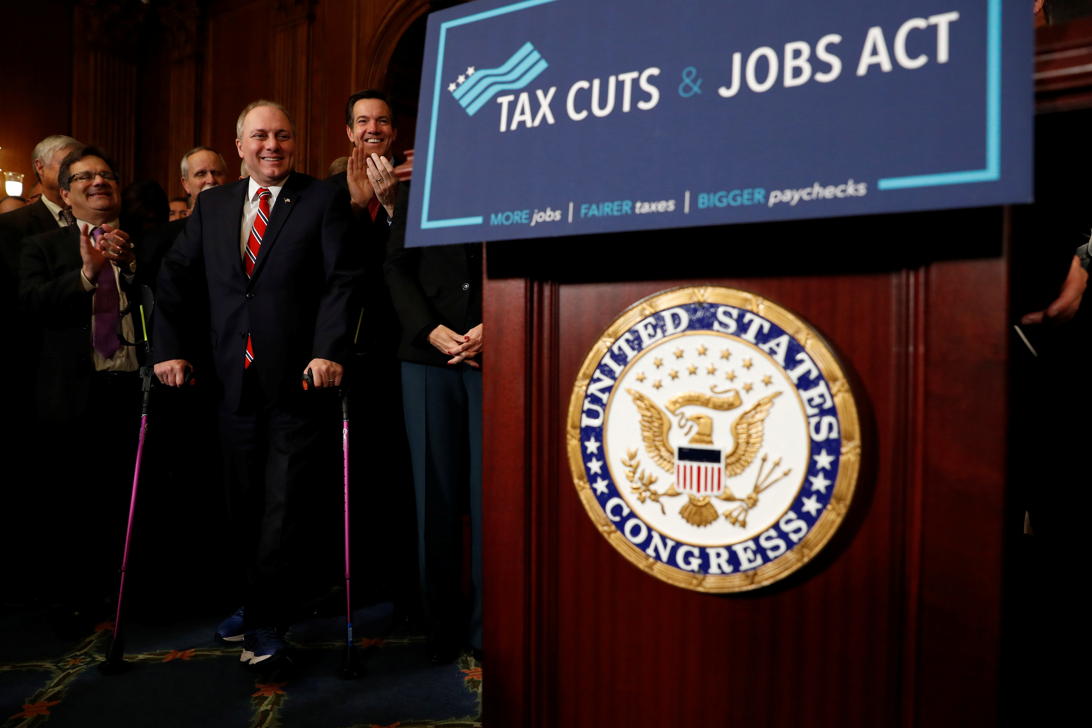 President Trump's 2017 tax cuts reduced the U.S. tax burden to one of the lowest among major world economies…