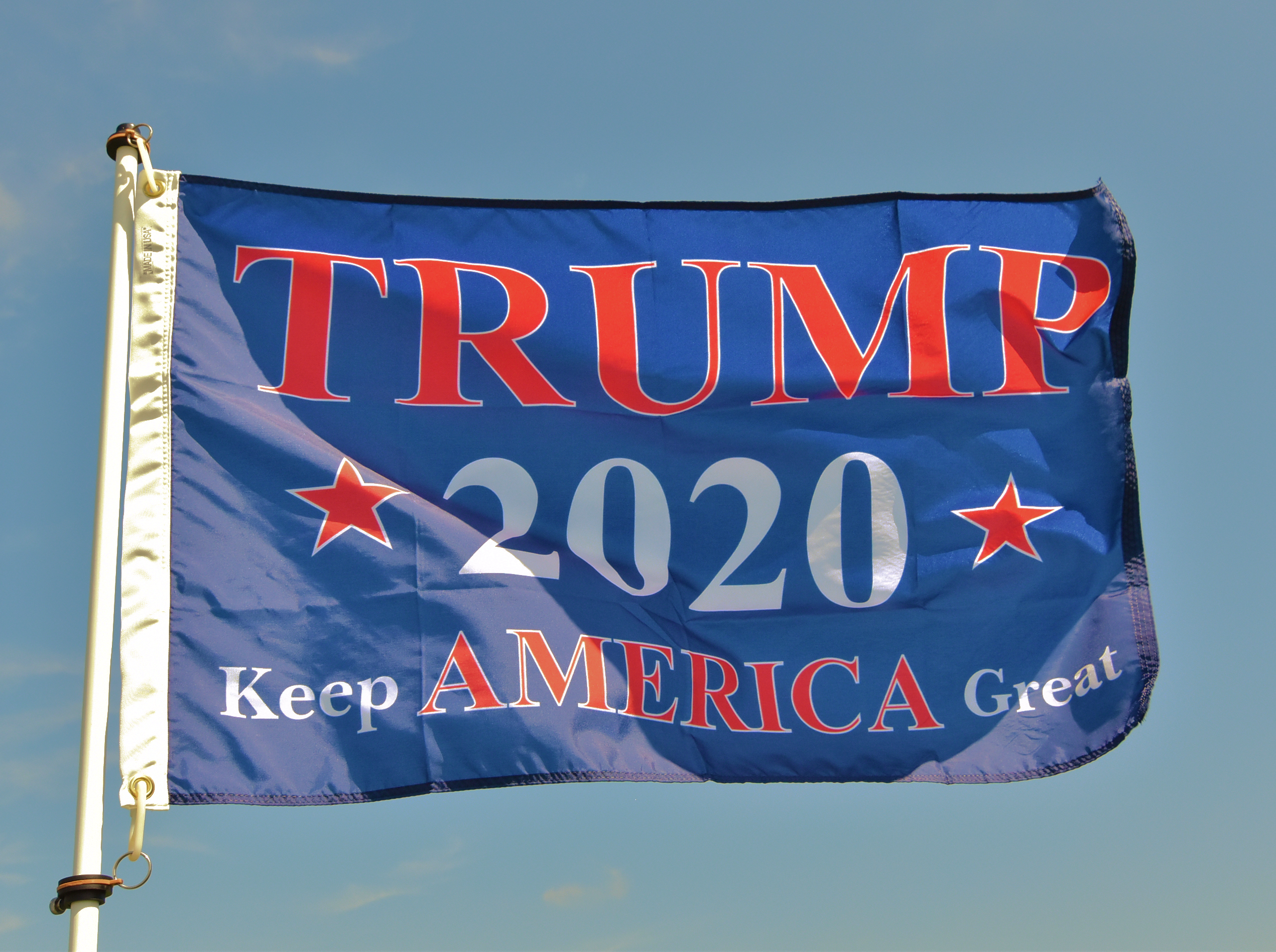 Business Owner in Minnesota says He's Willing to Pay the Fines or Go To Jail for Flying His Trump Flag