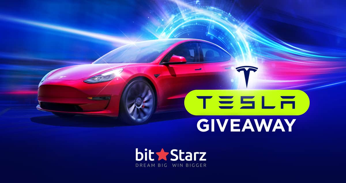 Right now, every player can take part in the Tesla Giveaway at Bitstarz casino