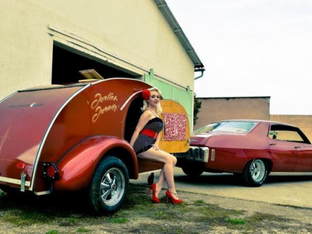 Mini-caravane légère Américaine - Location tournage cinéma ...