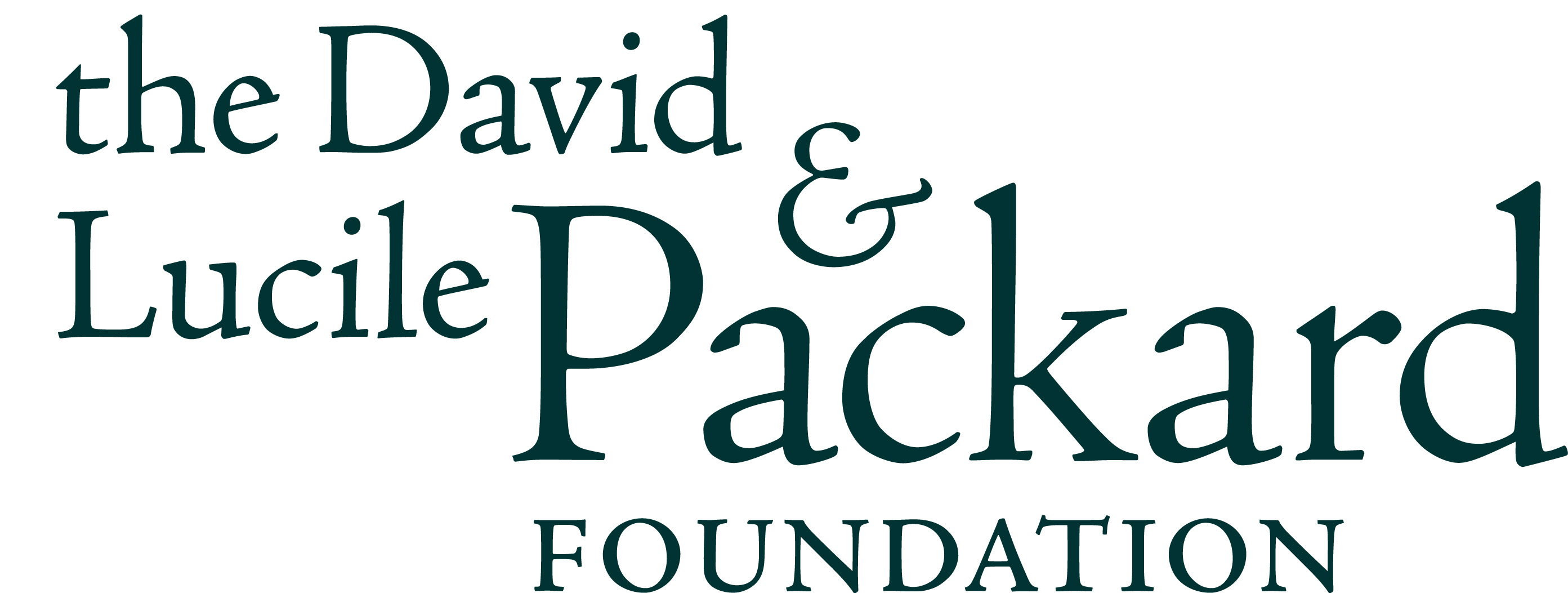 The David and Lucille Packard Foundation Logo