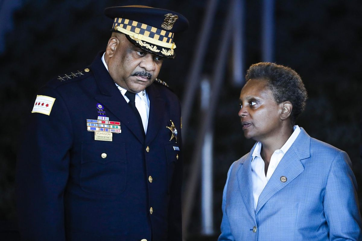 Chicago Police Superintendent Eddie Johnson fired by Mayor Lori Lightfoot…