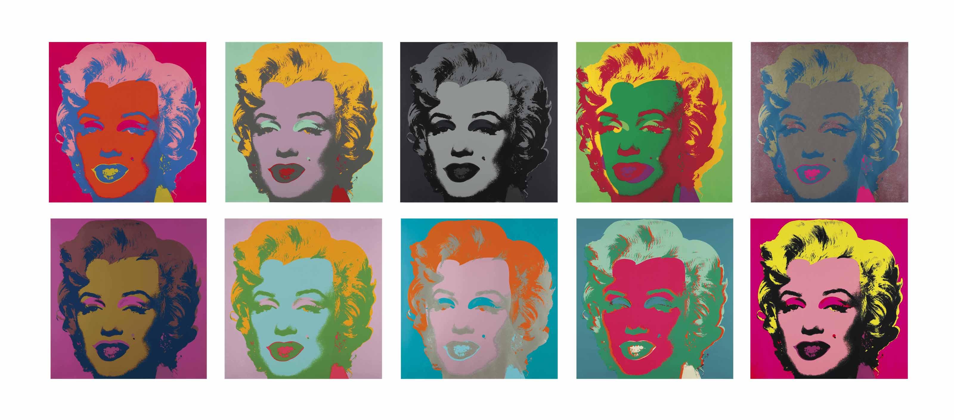 Andy Warhol (1928-1987) , Marilyn Monroe (Marilyn ...