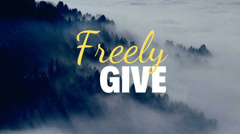 Freely Give | Put Me In Coach | Christian Life Fellowship