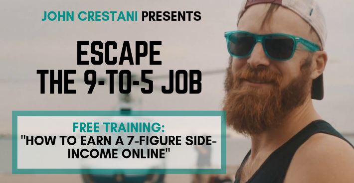 The John Crestani Super Affiliate System Review - Clicksure thebookongonefishing